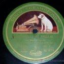 Discos de pizarra: DISCO 78 RPM - MANUEL VALLEJO CON LA GUITARRA DE MIGUEL BORRULL - GRAMÓFONO - FLAMENCO - PIZARRA. Lote 14001265