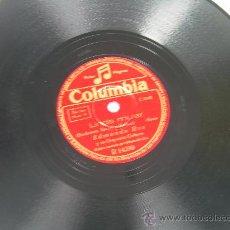 Discos de pizarra: EDMUNDO ROS - LINDA MUJER - COLUMBIA - PIZARRA 78 RPM. Lote 15496231