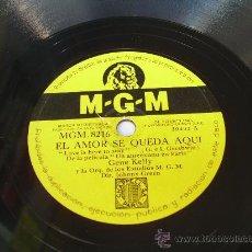 Shellac Records - GENE KELLY - TENGO RITMO - MGM - PIZARRA 78 RPM - 15080173