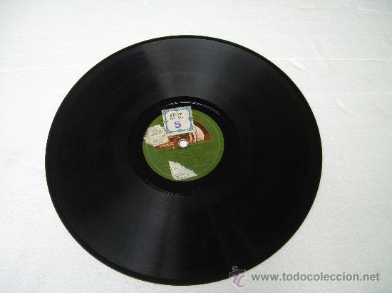 Discos de pizarra: LA COBLA LA PRINCIPAL DE LA BISBAL - CATALUNYA PLORA - SARDANA - LA VOZ DE SU AMO - PIZARRA 78 RPM - Foto 2 - 17182381