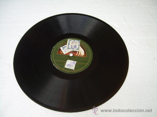 Discos de pizarra: CARMEN FLORES - ¡VALENCIANA! - LA VOZ DE SU AMO - PIZARRA 78 RPM - Foto 2 - 17182385