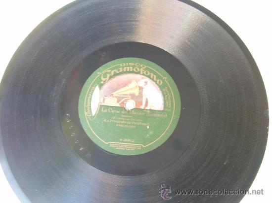 LA PRINCIPAL DE PALAFRUGELL - PRIMAVERA - SARDANA - CATALUÑA - LA VOZ DE SU AMO - PIZARRA 78 RPM (Música - Discos - Pizarra - Solistas Melódicos y Bailables)