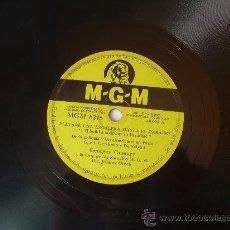 Discos de pizarra: GEORGES CUETARY - ELEVARÉ UNA ESCALERA HASTA EL PARAÍSO ,UN AMERICANO EN PARÍS- MGM - PIZARRA 78 RPM. Lote 15701143