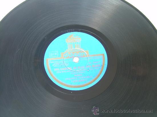 ORQUESTA DAJOS BELA - UNA CANCIÓN, UN BESO, UNA MUJER - RUMBA/FOXTROT - ODEÓN - PIZARRA 78 RPM (Música - Discos - Pizarra - Flamenco, Canción española y Cuplé)