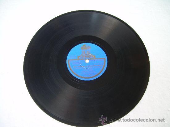 Discos de pizarra: ORQUESTA DAJOS BELA - UNA CANCIÓN, UN BESO, UNA MUJER - RUMBA/FOXTROT - ODEÓN - PIZARRA 78 RPM - Foto 2 - 18897250