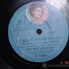 Discos de pizarra: 1226 CELIA GAMEZ ESTUDIANTINA PORTUGUESA Y YO LE SUPLICO A SU ALTEZA DISCO COLUMBIA MAS EN C&C. Lote 26002389