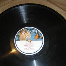 Discos de pizarra: DISCO DE PIZARRA (CUPLE) RAQUEL MELLER .ANTON EL HEROE Y INDOSTAN. Lote 26635590