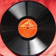 Discos de pizarra: FLORENCIO CONSTANTINO: ELISIR D'AMORE-UNA FURTIVA LAGRIMA. VICTOR RECORD. CA 1905.. Lote 26666494