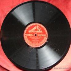 Discos de pizarra: ENRICO CARUSO: BOHÈME-CHE GELIDA MANINA. VICTROLA RECORD. CA 1910. . Lote 26681735