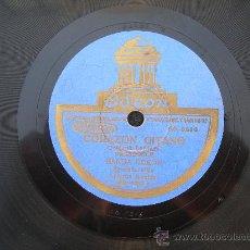 Discos de pizarra: DISCO PIZARRA // BANDA ODEON // CORAZON GITANO (PASODOBLE). Lote 24820748