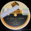 Discos de pizarra: DISCO 78 RPM - RAQUEL MELLER - LA TARDE DEL CORPUS / LA BIEN AMADA - PIZARRA. Lote 16671283