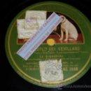 Discos de pizarra: DISCO 78 RPM - LA ARGENTINITA - LAS CARIÑOSAS / EL HUÉSPED DEL SEVILLANO - GRAMÓFONO - PIZARRA. Lote 16672975