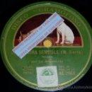 Discos de pizarra: DISCO 78 RPM - LA ARGENTINITA - UNA SEÑORA SENSIBLE - GRAMÓFONO - PIZARRA. Lote 16673133