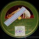 Discos de pizarra: DISCO 78 RPM - LA ARGENTINITA & SALVADOR BALLESTEROS (GUITARRA) - GRAMÓFONO - PIZARRA. Lote 16673305
