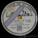 Discos de pizarra: DISCO 78 RPM - LOLA FLORES CON ORQUESTA - JURAMENTO TE DARÉ / PEPA BANDERA - PIZARRA. Lote 16673761