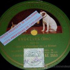 Discos de pizarra: DISCO 78 RPM - COBLA LA PRINCIPAL DE LA BISBAL - GRAMÓFONO - SARDANAS - PIZARRA. Lote 16690501