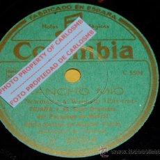 Discos de pizarra: DISCO 78 RPM - TEJADA & ORQUESTA DEL PASAPOGA DE MADRID - RANCHO MÍO / SERENATA AFRICANA - PIZARRA. Lote 17043988