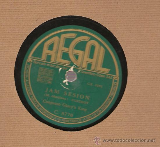 Discos de pizarra: CONJUNTO GLORY´S KING: JAM SESION + ROMPIENDO CRISTALES - Foto 2 - 17293322