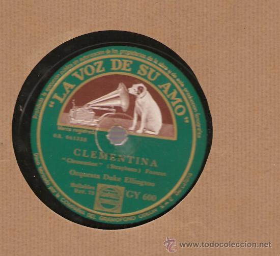 DUKE ELLINGTON : CLEMENTINA + FIVE O´CLOCK DRAG (Música - Discos - Pizarra - Jazz, Blues, R&B, Soul y Gospel)