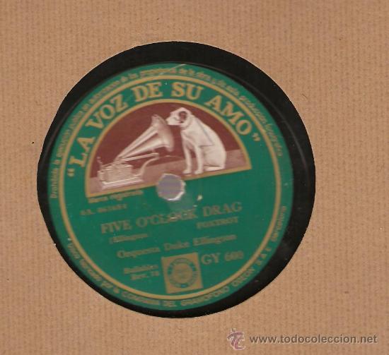 Discos de pizarra: DUKE ELLINGTON : CLEMENTINA + FIVE O´CLOCK DRAG - Foto 2 - 17293382