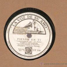 Discos de pizarra: ORQUESTA TOMMY DORSEY : PIENSO EN TI + HE PUESTO MIS OJOS EN TI . Lote 17293519