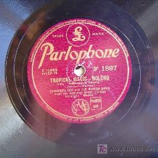 Discos de pizarra: DISCO GRAMOFONO PARLOPHONE - TROPICAL MAGIC BOLERO - EDMUNDO ROS (DE LA PELICULA WEEK-END IN HAVANA). Lote 26666344