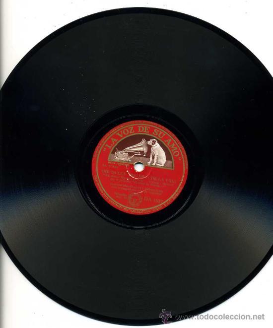 JEANETTE MAC-DONALD Y NELSON EDDY-LA VOZ DE SU AMO-OH¡DULCE MISTERIO DE LA VIDA-LLAMADA INDIA DE AMO (Música - Discos - Pizarra - Bandas Sonoras y Actores )