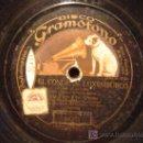 Discos de pizarra: DISCO GRAMOFONO - EL CONDE DE LUXEMBURGO - DUO COMICO, SRTA. FONS Y SR. CRESPO. Lote 38922036