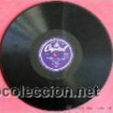 Discos de pizarra: CONCHITA PIQUER CON ORQUESTA DIRECTOR M. LIZCANO DE LA ROSA (DOLORES,LA PETENERA - TUS OJOS NEGROS) . Lote 19698956