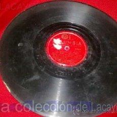 Discos de pizarra: DISCO DE PIZARRA COLUMBIA. Lote 21643290