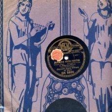 Discos de pizarra: ORQUESTA DRENA-WITMAN DE PARIS / AMAME ESTA NOCHE / UN REVE BLOND ( DE LA PELICULA MI BELLA ESPERANZ. Lote 26117742