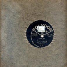 Discos de pizarra: CHUCK FORSTER / LINDA - DICK TWO TON BAKER / ZIP A DEE DOO DAH. Lote 22061982