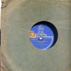 Discos de pizarra: ORQUESTA DAJOS BELA / AM MEOKAR SIND FIE MADELS BLOND / MY BLUE HEAVEN. Lote 22062007