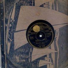 Discos de pizarra: ORQUESTA ALEXANDER DE PARIS / DANS MA PENICHE / EL TORBELLINO. Lote 23657891