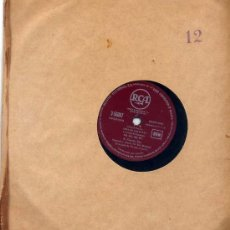 Discos de pizarra: K.GRAYSON / ARIA DE LAS JOYAS / OH ME, OH MY / I WISH I COULD SHIMMY LIKE MY SISTER KATE. Lote 22523220