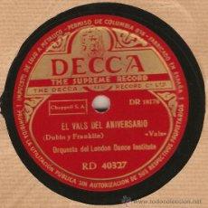 Discos de pizarra: DISCOS DE PIZARRA. Lote 25136063