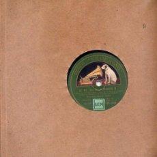 Disques en gomme-laque: ORQUESTA MAREK WEBER / DE NO EXISTIR LA PALABRA SI.../ ADIOS MI LINDO OFICIAL (LA VOZ DE SU AMO). Lote 23020450