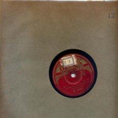 Discos de pizarra: ETHEL SMITH (ORGANO) / EL LORO / PARAN, PAN PIN, CACHITA (DECCA). Lote 27080963