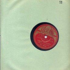 Discos de pizarra: CARMEN CAVALLARO / ENAMORADA DEL AMOR / LUNA AMRILLA (DECCA). Lote 23051555
