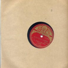 Discos de pizarra: BILL SNYDER / CHOPPIN'UP CHOPIN / LA NOCHE ES JOVEN Y ERES TAN BONITA (DECCA). Lote 23051632