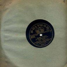 Discos de pizarra: H.SCHLUSNUS (BARITONO) POLYDOR ORIGINAL ALEMAN. Lote 23181745