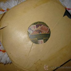 Discos de pizarra: DISCO DE PIZARRA, FEDERICO CABALLÉ:LOS CALABRESES. Lote 26607879