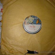Discos de pizarra: DISCO DE PIZARRA,DUETO DE LA PIPA,MELO E IÑIGO: EL NIÑO JUDIO. Lote 26607881