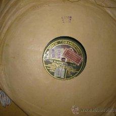 Discos de pizarra: DISCO DE PIZARRA, TANA LLURÓ:LA SOMBRA DEL PILAR.(JOTA DE MIGUEL). Lote 26564644