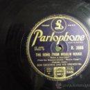 Discos de pizarra: DISCO GRAMOFONO - THE SONG OF MOULIN ROUGE -