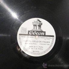 Discos de pizarra: BONET DE SAN PEDRO Y LOS 7 DE PALMA 78RPM PIZARRA - . Lote 23873575