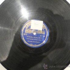 Discos de pizarra: ORQUESTA GRAN CASINO JAZZ ESPAÑOL 78 RPM PIZARRA. Lote 23874473