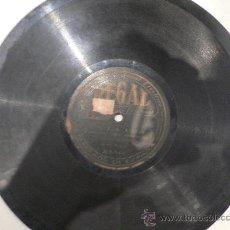 Discos de pizarra: AMALIA MOLINA COPLA 78 RPM PIZARRA. Lote 23874662
