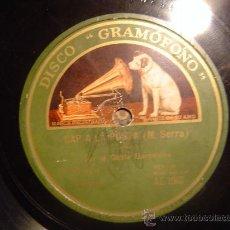 Discos de pizarra: DISCO GRAMOFONO - CAP A LA POSTA (SARDANA) - COBLA BARCELONA. Lote 27276666