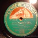 Discos de pizarra: DISCO GRAMOFONO - LUNA SOBRE CUBA - ORQUESTA DUKE ELLINGTON. Lote 27314343